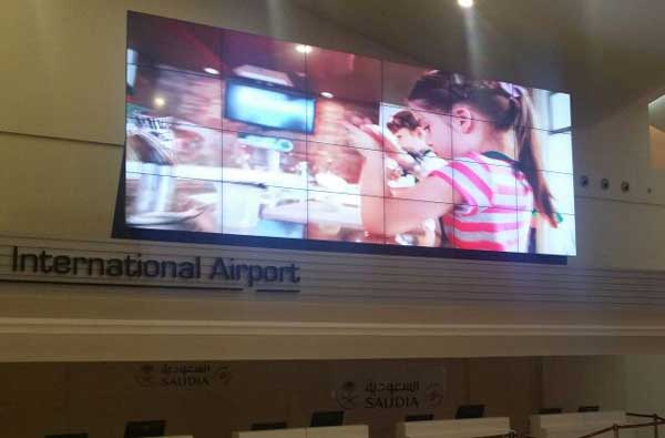 Outdoor LED Video Wall Display for Airports