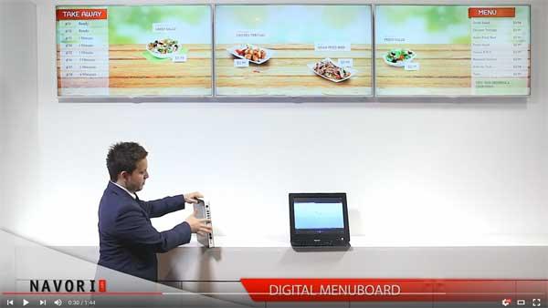 Digital Menu Boards Software