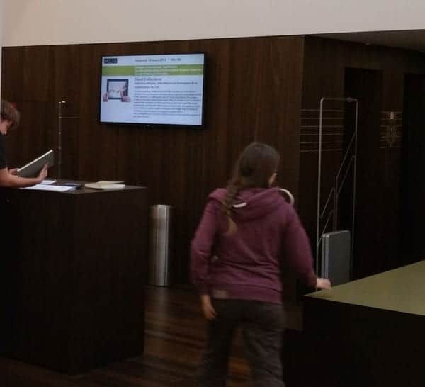 Interactive Digital Display for Government