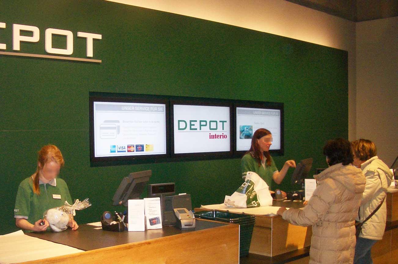 Retail Multi-Display Digital Signage