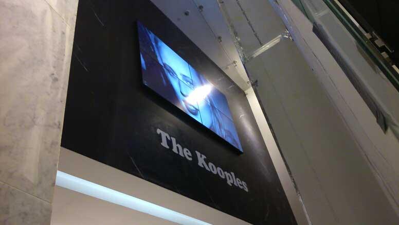 Retail Outdoor Digital Video Wall Display