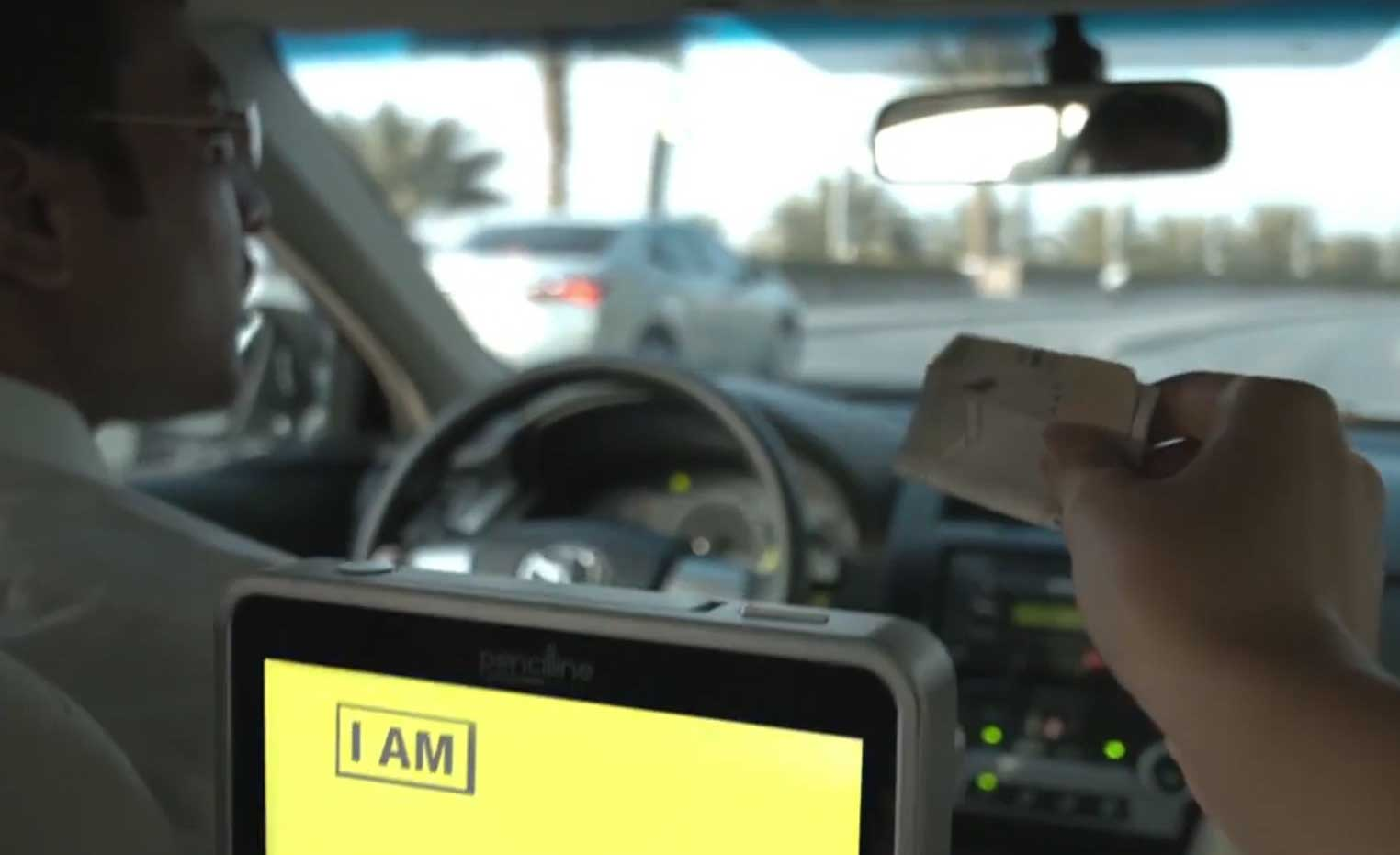 Digital Signage Software for Taxi