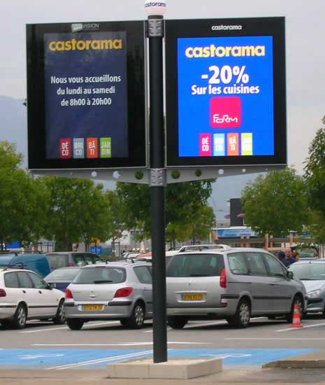 Outdoor Led Signage Display