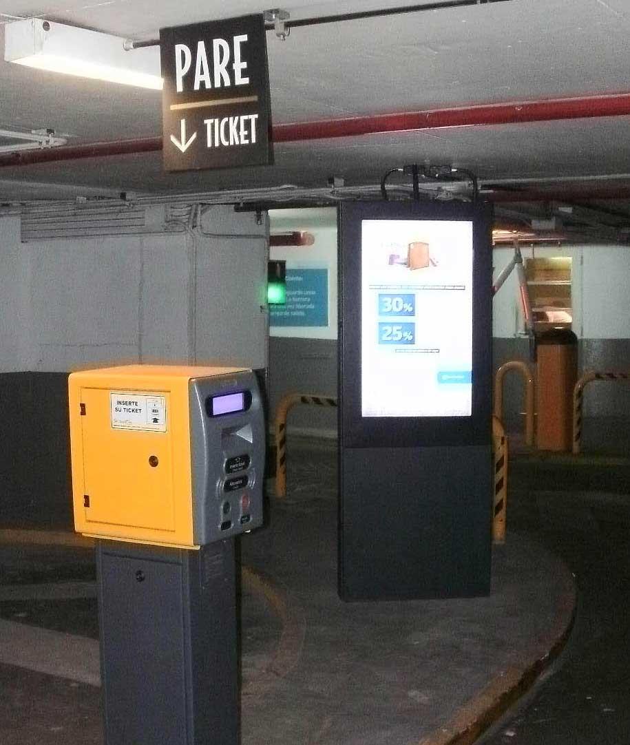 Digital Display for Parking