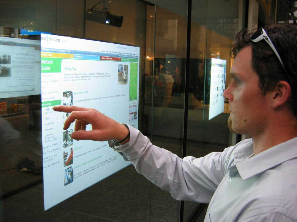 Interactive Digital Signage for Retail Window Display