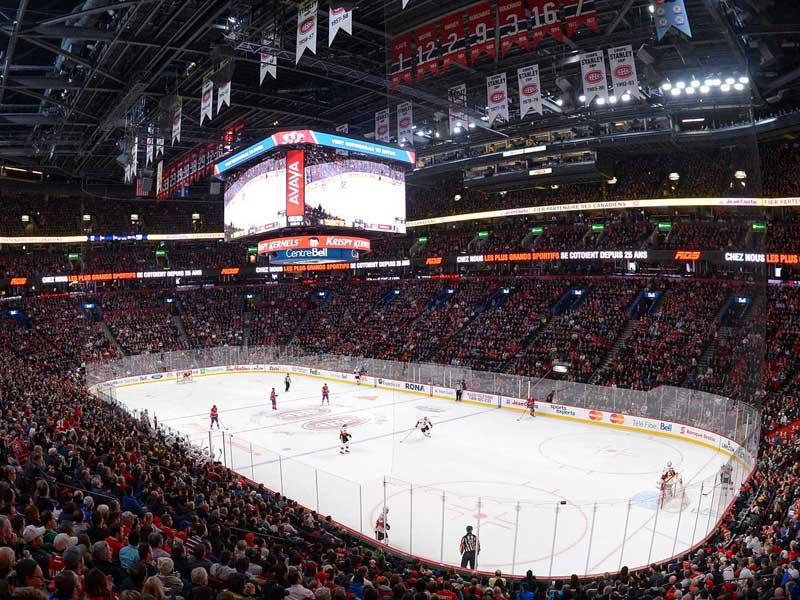 Digital LED displays for Stadium
