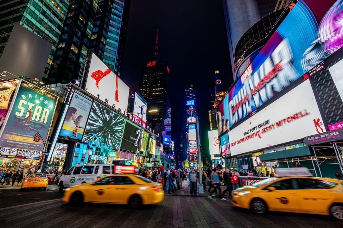 Digital Signage in Times Square