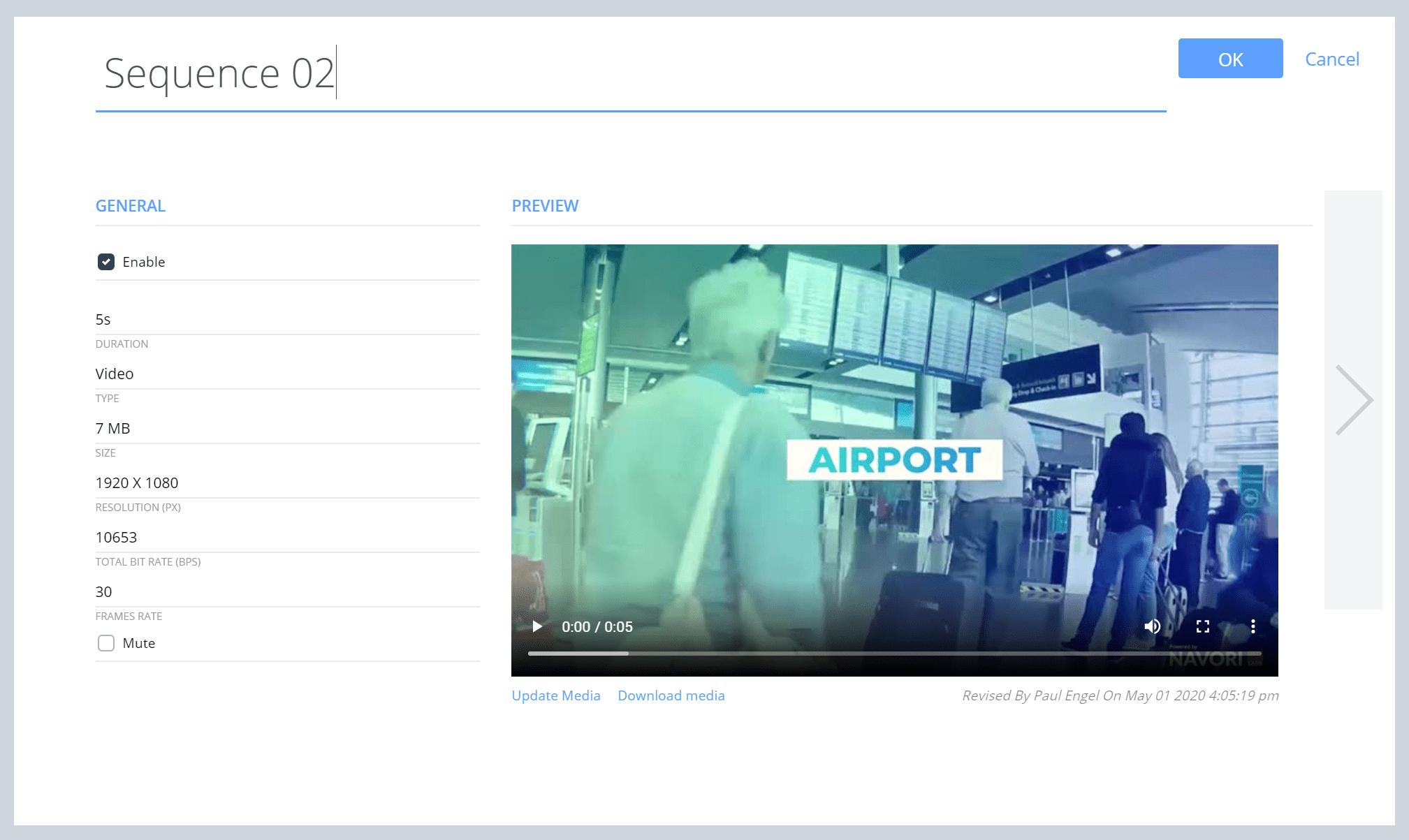 Digital Signage at Airport
