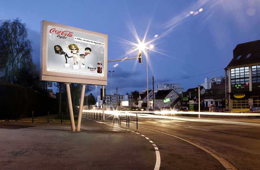 Outdoor LED Billboard In London