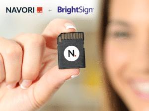 BrightSign SD Card Logo