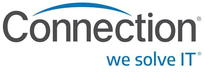 connection logo white